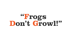 Frogs Don't Growl