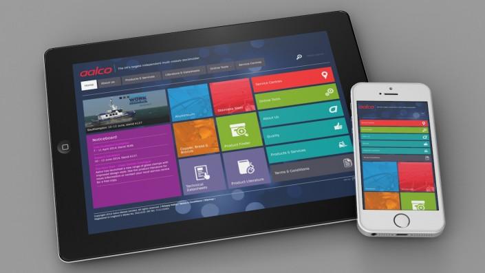 Aalco responsive website