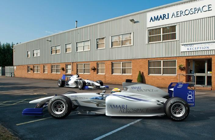 Amari F1 car
