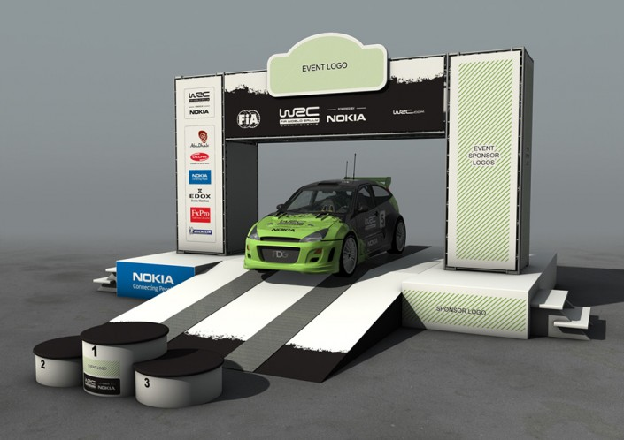 WRC Event Stage