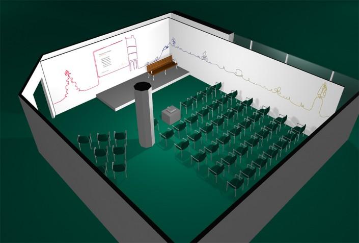 Radley + Co - set design