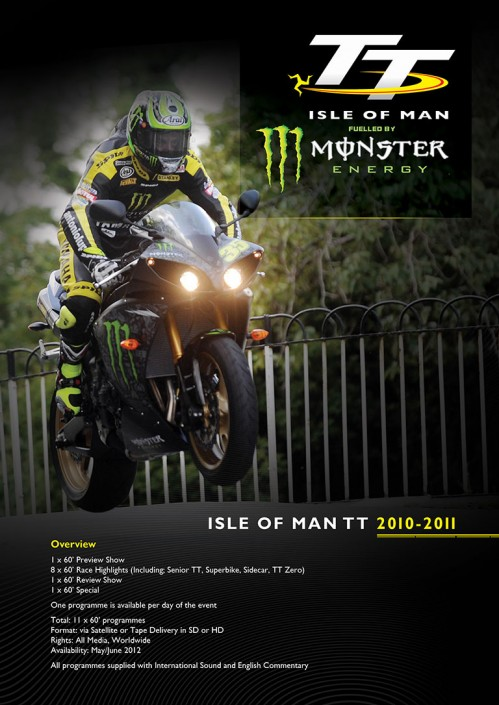 Isle of Mann TT advert