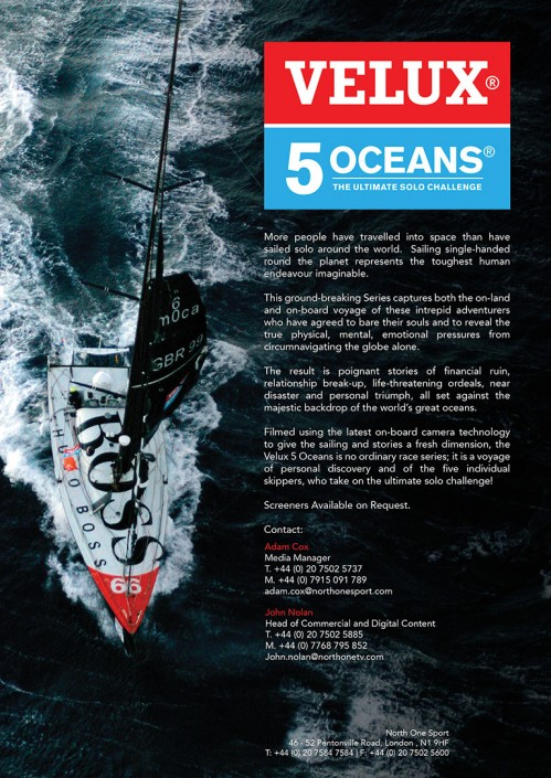 5 Oceans Advert